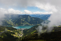 cloud framing Zell am See (jimx9999) Tags: austria sterreich salzburg zellamsee zellersee schmittenhhe