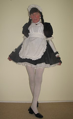 Maid reporting for duty (marcia2015au) Tags: tv cd crossdresser crossdressing sissy dressing cosplay petticoats sissymaid maid
