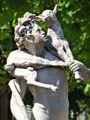 1685 sculpture (Jeanne Menj) Tags: faune chevreau 1685 pierrelepautre tuileries sculpture statue