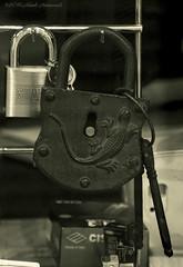 Vigorous items (Natali Antonovich) Tags: sweetbrussels brussels belgium belgique belgie lock monochrome vigorousitems parallels