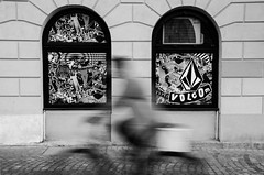 (Tom Plevnik) Tags: bnw blackandwhite candid city flickr human ljubljana monochrome nikon outdoor public people places photography street urban bicycle surreal
