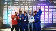 Equipe Sergipana no desafio Foto Febaju