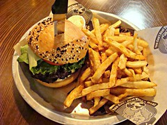 Vera's Burger and Fries (knightbefore_99) Tags: vancouver eastvan bc art cool local vera burger fries meat tasty bun patty lettuce awesome nice tomato