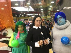 wizard world chicago 2016 (timp37) Tags: wizard world comic con august 2016 chicago illinois rosemont nat nathalie conlife cosplay disney inside out disgust sadness wednesday addams family