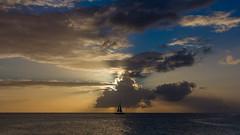 (FrancisHamlet) Tags: canon 60d saint sint st san maarten martin boat endless summer sun ray seascape calm sailboat