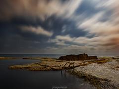 Cabo Cervera (joaquinain) Tags: nocturna nightly nubes clouds mediterrneo mediterranean sea seascape mar paisaje marino larga exposicin long exposure olympus omd em1 voigtlander
