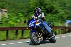 Kawasaki ZRX 1608203329w (gparet) Tags: bearmountain bridge road scenic overlook motorcycle motorcycles goattrail goatpath windingroad curves twisties outdoor vehicle