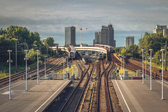 New photo of Van Der Madeweg station, in Amsterdam (tommyferraz) Tags: station trains metro transport commute amsterdam zuid south van der madeweg