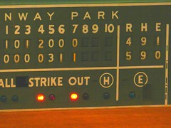 Red Sox Fenway Park Score Board   --   Studio_20160920_064505 (mshnaya, Thank you for commenting ) Tags: boston red sox fenway park green monster yankees game score board 7th inning flickr picture photo photography candid leicac leica point shoot camera