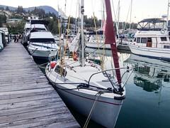 20160823_iPhone_0005 (Bruce McPherson) Tags: brucemcphersonphotography sailing sailboat columbia22 columbia22sailboat tara outdoors warm sunny straitofgeorgia howesound gibsonsmarina gibsonslanding gibsons bc canada