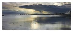 ELIE EVENING (SwaloPhoto) Tags: bay bythesea coast coastal sky sea clouds elie earlsferry eastneuk fife estuaries firthofforth oilrigs reflections formatt hitech firecrest filters fujinonxf18135mm f3556rlmoiswr fujixt1 sun fuji velvia film simulation crepuscular rays