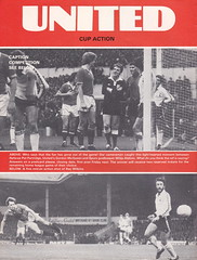 Manchester United vs Aston Villa - 1980 - Page 4 (The Sky Strikers) Tags: manchester united aston villa football league division one old trafford review 20p