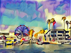 Balboa Island (sfPhotocraft) Tags: balboaisland orangecounty usa ferriswheel newportbeach 2016