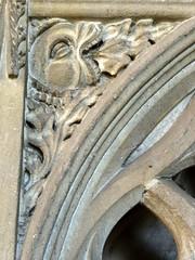 Broughton, Oxfordshire (Sheepdog Rex) Tags: stmaryschurch broughton sedilia greenman