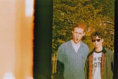 Boys 2 Men (BeefySquarms) Tags: adamcastle frankmorris boys2men greatmates lifelongfriends halfframeshots endofroll 35mm filmphotography film photography hampsteadheath filmisnotdead dianamini dianacamera lomography