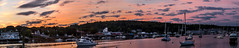 Boothbay Harbor Sunrise (Me in ME) Tags: boothbay boothbayharbor maine sunrise morningsky panorrama explore