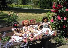Kindergartenkinder bereit zum Oktoberfest ... (Kindergartenkinder) Tags: rosengarten kindergartenkinder seppenrade setina sanrike kindra annemoni dolls himstedt annette