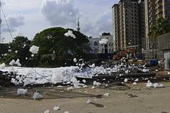 Bellandur Foam Suds - Children's Polluted Dreams (Anoop Negi) Tags: bangalore bengaluru poluution foam suds toxic bellandur lake water body contamination india soapy child play anoop negi ezee123 photo photography