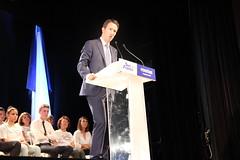 Nicolas Sarkozy et Guillaume Peltier à Vendôme