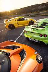 Colours of Life (speedmatters) Tags: lotus vx220 elise exige getoutanddrive automotive ontheroad racing green british midengined supercharged heritage colourful orange yellow sunlight