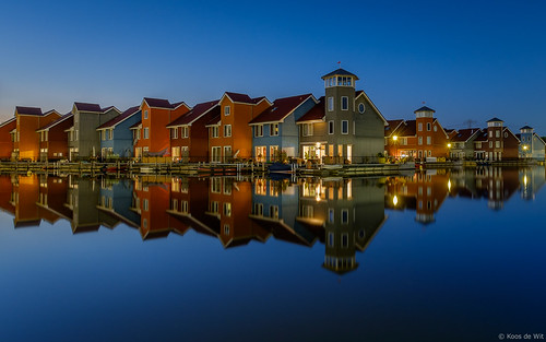 Reitdiephaven at blue hour