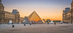 Colorful sunset at Louvre Palace (Sorin Popovich) Tags: pyramidedulouvre architecture buildingexterior builtstructure capitalcities colourimage contrasts dusk europe famousplace france frenchculture horizontal internationallandmark majestic museedulouvre parisfrance pattern photography reflection symmetry tourism tranquilscene tranquility travel traveldestinations louvre paris sunset colorful