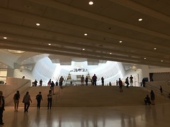 IMG_0500 (gundust) Tags: nyc ny usa september 2016 newyork newyorkcity manhattan architecture wtc worldtradecenter calatrava station path wtctransportationhub transportationhub void oculus wings sculptural verticality white steel glass lighting sun alignment 911 september11 memorial