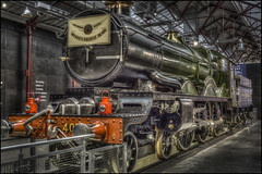 Swindon Steam Museum 15 (Darwinsgift) Tags: swindon steam museum great western railway hdr waxworks photomatix history trains nikon d810 multiple bracketed exposure voigtlander ultron 40mm f2 sl ii 2