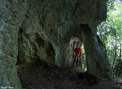 Arche dans la falaise de la cote du chteau - Marnoz - Jura (francky25) Tags: arche dans la falaise de cote du chteau marnoz jura karst franchecomt