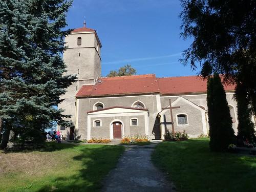 Kościół św. Anny w Kłaczynie od południa