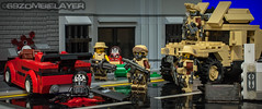 S.B.S in Lego City (69zombieslayer) Tags: google lego zombies minigun sbs googlesearch minifigures brickarms legominifigures legovehicles legomilitary legozombies minifigcat eclipsegrafx legoswat