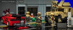 S.B.S in Lego City (The Brick Zombie) Tags: google lego zombies minigun sbs googlesearch minifigures brickarms legominifigures legovehicles legomilitary legozombies minifigcat eclipsegrafx legoswat