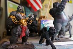 Gorillas (AndersHolvickThomas) Tags: macro toys funny gorilla