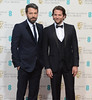 The 2013 EE British Academy Film Awards Featuring: Ben Affleck,Bradley Cooper
