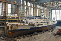 'Manxman' Pallion Shipyard Sunderland 18th March 2010 (John Eyres) Tags: