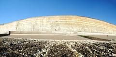 Cliffs between Brighton & Ovingdean (Mark Wordy) Tags: uk england beach coast chalk cliffs erosion groyne whitecliffs eastsussex rockpools brightonhove seadefences undercliffwalk