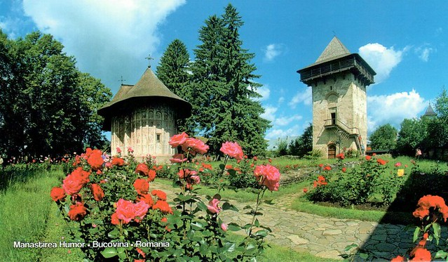 UNESCO WHS Romania Painted Churches of Moldavia: Humor