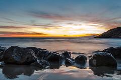 Amanecer en la Cala Peña Cortada (Sunrise on The Cut Rock Creek) (aldairuber) Tags: rememberthatmomentlevel1 rememberthatmomentlevel2 rememberthatmomentlevel3