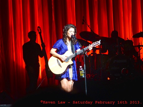 Katie Melua live in Paris ~ Saturday February 16th 2013.