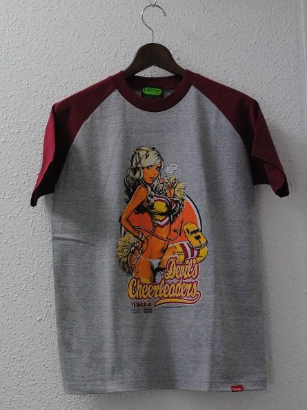 "Erostika – ""Pussycat on Motorcycles""&""Devil's Cheerleaders"" T恤新色登場!~"