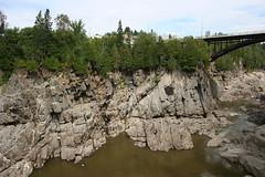 Grand Falls Gorge (demeeschter) Tags: new canada river waterfall rocks grand brunswick falls gorge