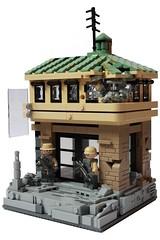 Chronicles: Run Down (✠Andreas) Tags: usa war lego military vignette diorama cyberpunk panasia brickarms thepurge legowar rundowncity