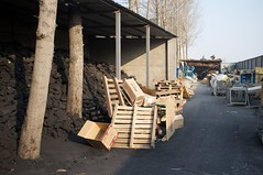 The reason for the air pollution... (HJN-76) Tags: china industry smog pollution coal heating