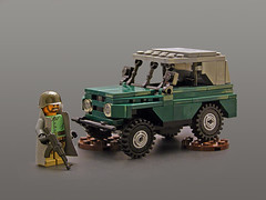 UAZ 469 (Legohaulic) Tags: lego suspension russia military soviet vehicle uaz