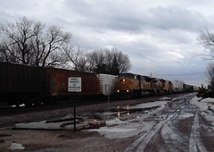 Nevada, Iowa, Union Pacific Railroad, Trains (photolibrarian) Tags: trains unionpacificrailroad nevadaiowa