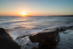 """St Mary's Lighthouse at Dawn • <a style=""""font-size:0.8em;"""" href=""""https://www.flickr.com/photos/21540187@N07/8523134975/"""" target=""""_blank"""">View on Flickr</a>"""