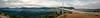 Millau Viaduct (Cthulhu79) Tags: bridge panorama sun france architecture clouds canon dawn viaduct pont rise tamron tarn xsi millau viaduc 450d