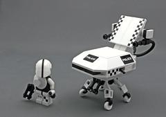 Koma Police (halfbeak) Tags: lego police radiohead ghostintheshell mecha tachikoma thinktanks 2013