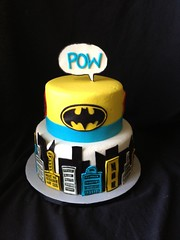 "super hero POW cake • <a style=""font-size:0.8em;"" href=""http://www.flickr.com/photos/60584691@N02/8546760969/"" target=""_blank"">View on Flickr</a>"