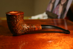 Rusticated Dublin (KraigSeder) Tags: handmade pipe tobacco briar woodworking rusticated